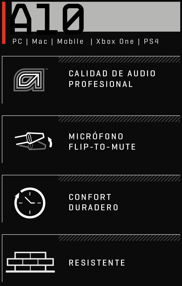A10 PRO GAMING EQUIPMENT