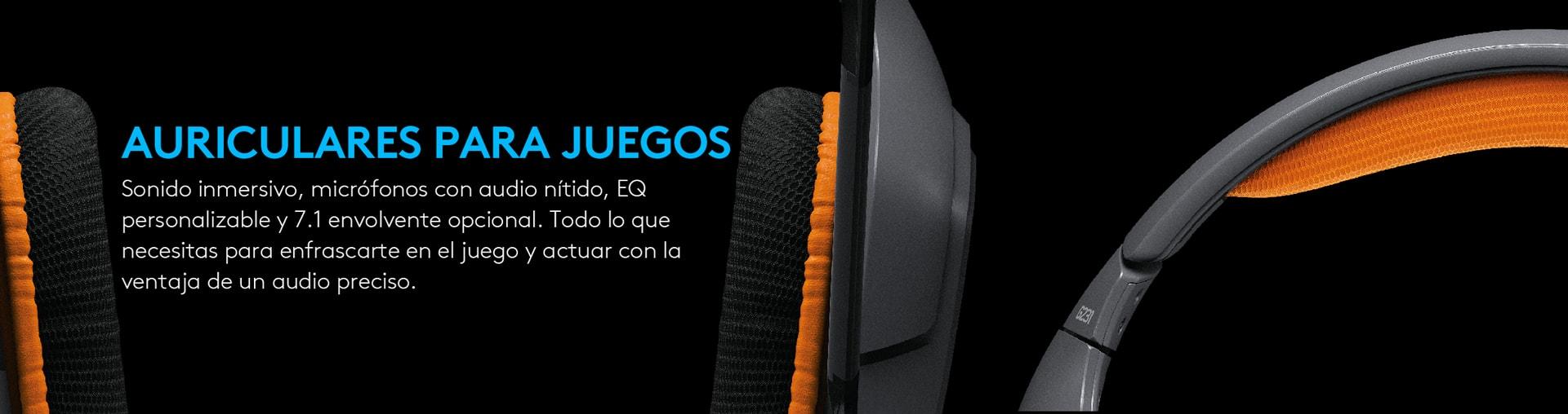 Auriculares Logitech G