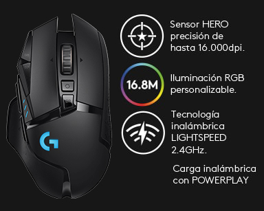 G502 LIGHTSPEED Wireless