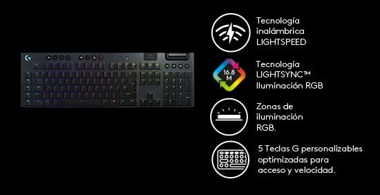 G915 LIGHTSPEED Wireless